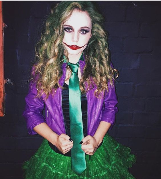 Female Joker Halloween Costume