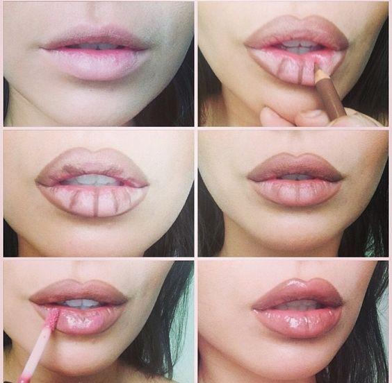 lips-contour
