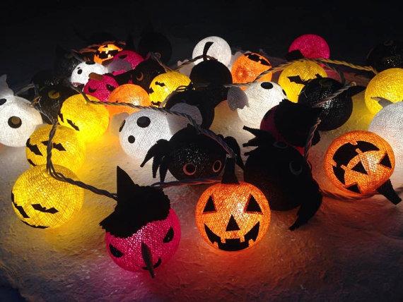 luces halloween