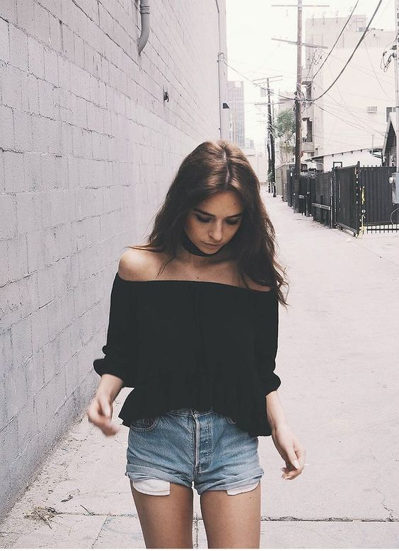 off shoulder