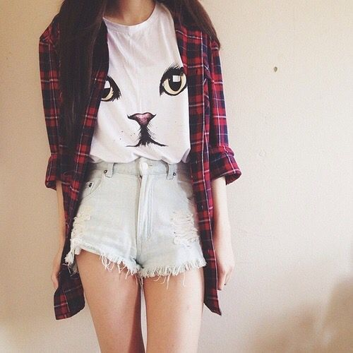 outfit con shorts