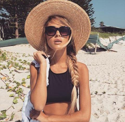 peinado-con-sombrero