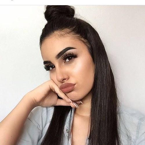 Peinados y maquillaje tumblr