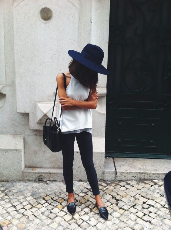 peinados-con-sombrero