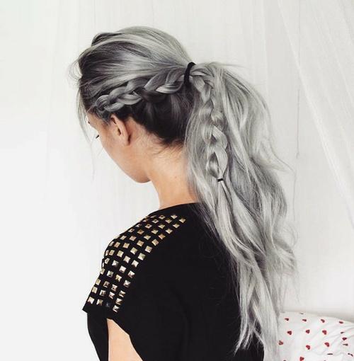 peinados-gris