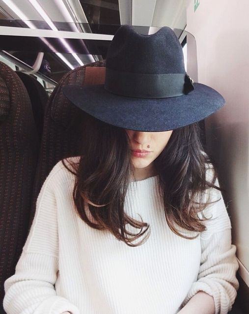 peinados-sombrero