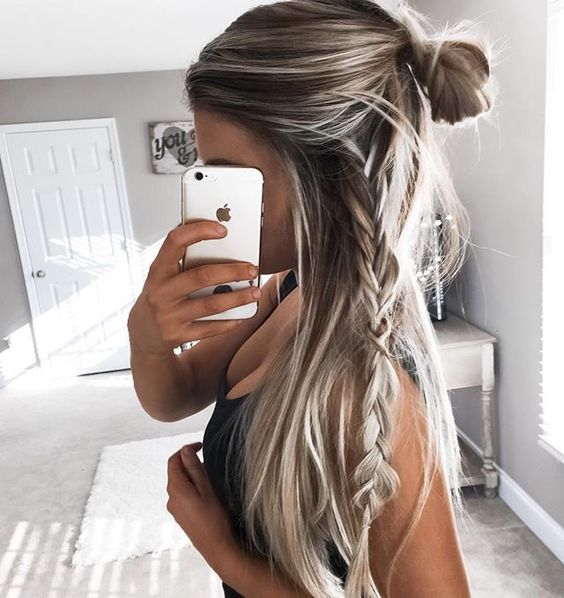 15 Peinados De Chica Tumblr Con Los Que Necesitas Una Selfie