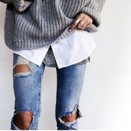 shirt with jeans