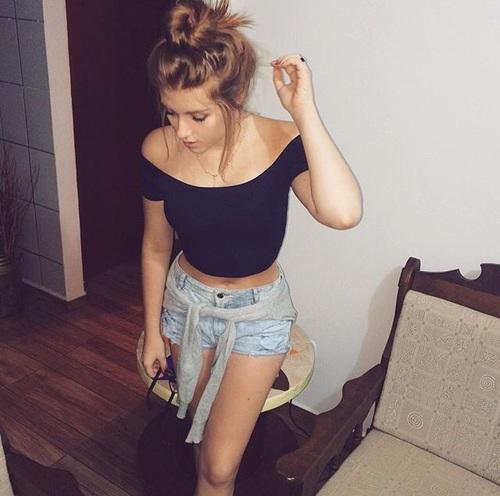 shorts-sueter