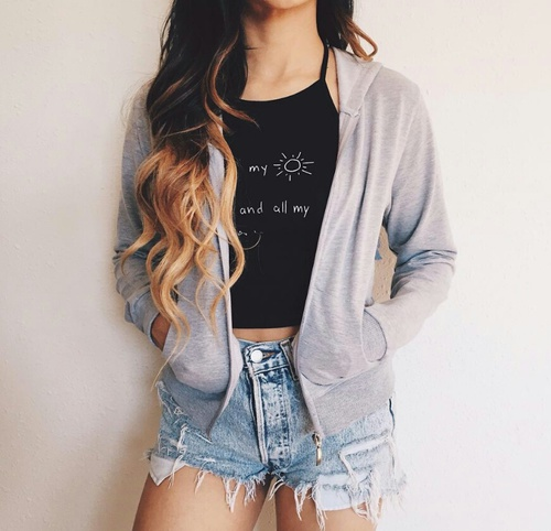 suueter y shorts