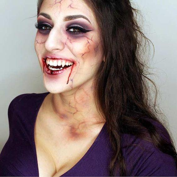 Disfraces para halloween de mujer que den miedo