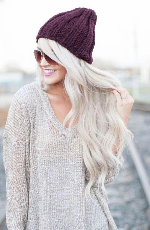 beanie-hairstyle
