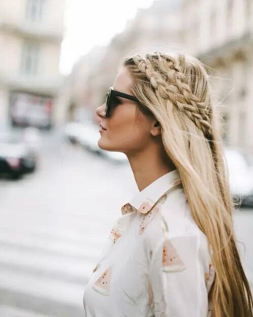 crown-hair