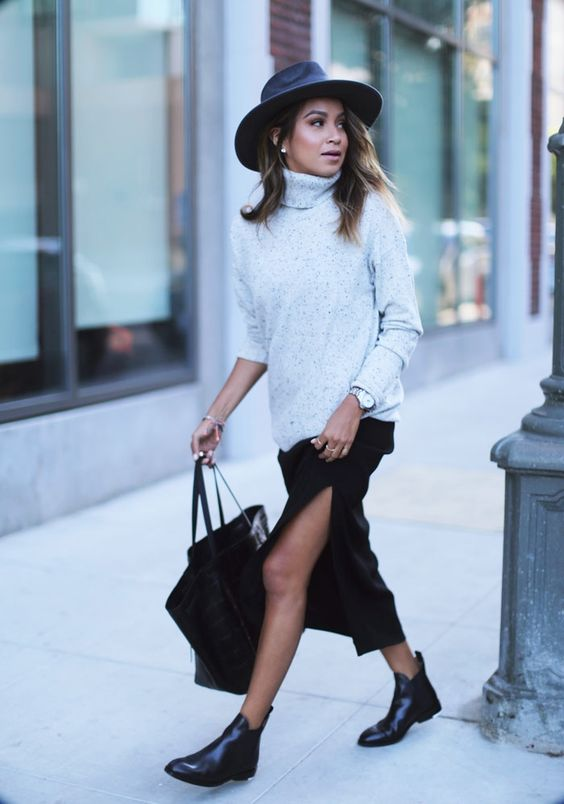 dress-and-sweater