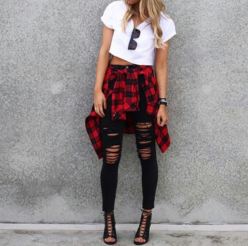 flannel-chic