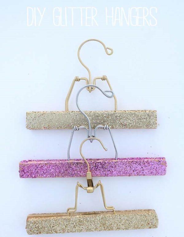 glitter-hangers