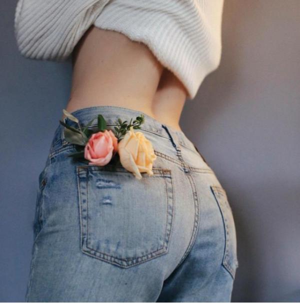 jeans-flores