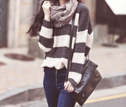 jeans-scarf