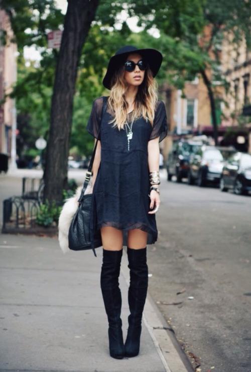 look-boho-black