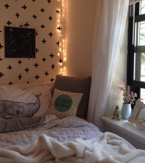 College Apartment Bedroom Boho