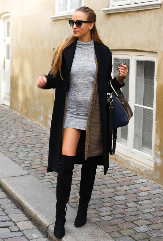 outfits-botas-grandes-chic