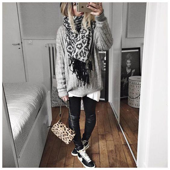 outfits-ligeros-con-bufanda