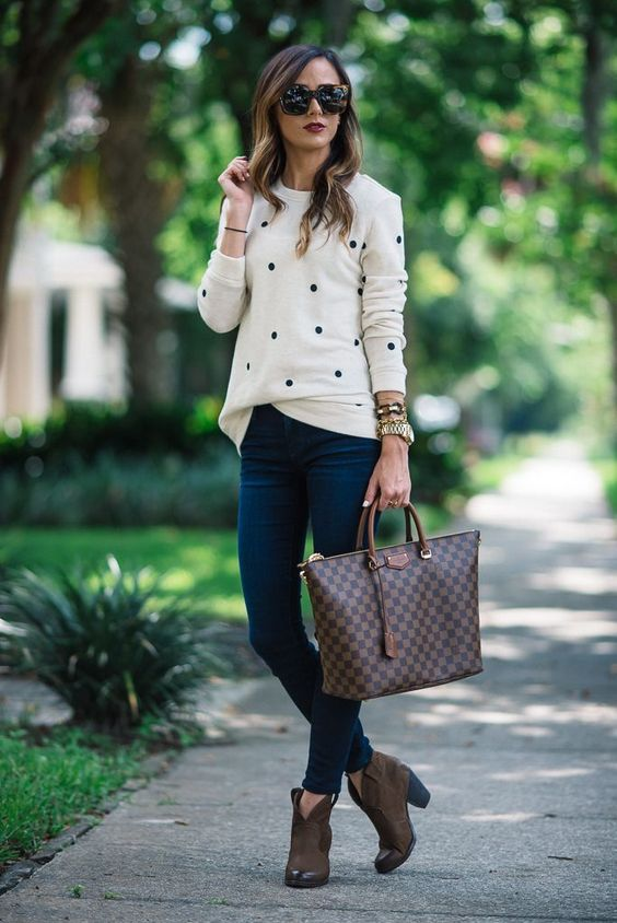 outfits-preppy-chic