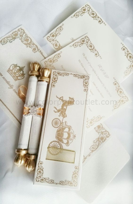 Cinderella Themed Invitations as adorable invitations layout