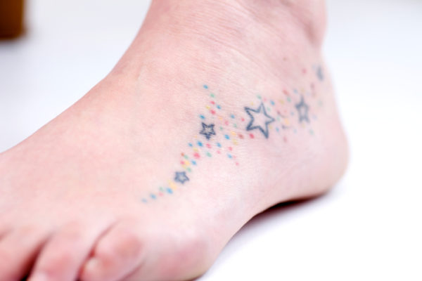 Tattooed Foot...