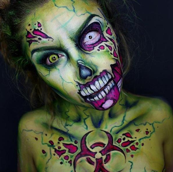 zombie-makeup
