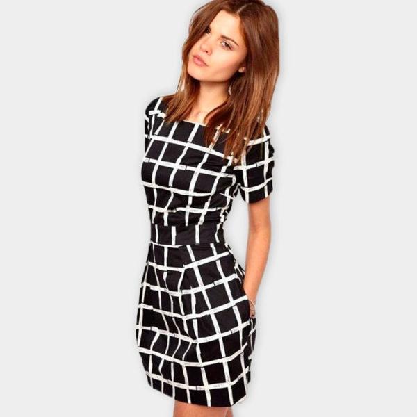 bandw-dress