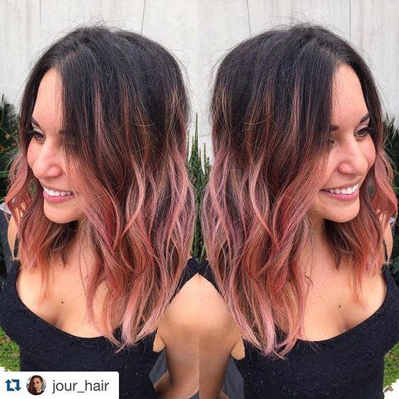 Ideas Para Hacerte Un Hairstyle De Casta 241 O A Rosa Gold