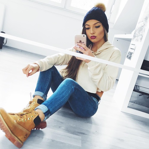 jeans-timberlands