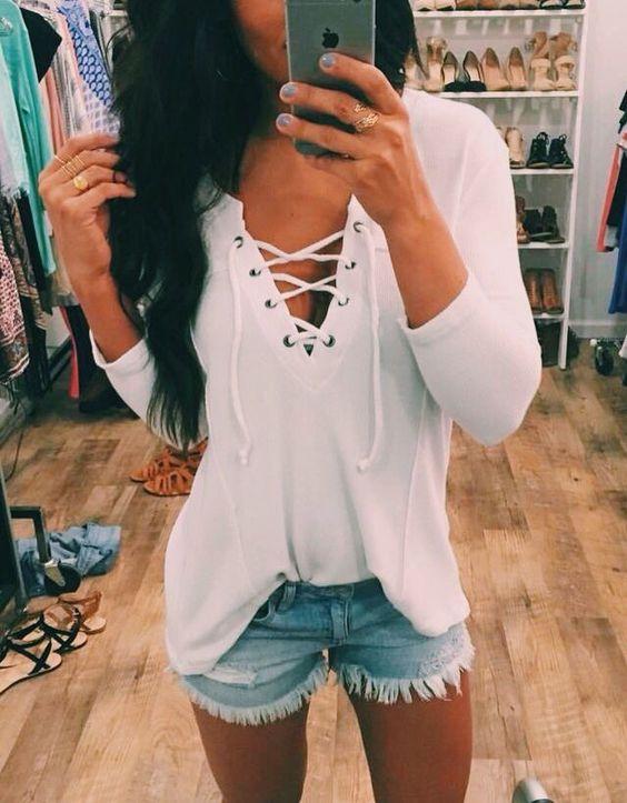lace-up-shorts