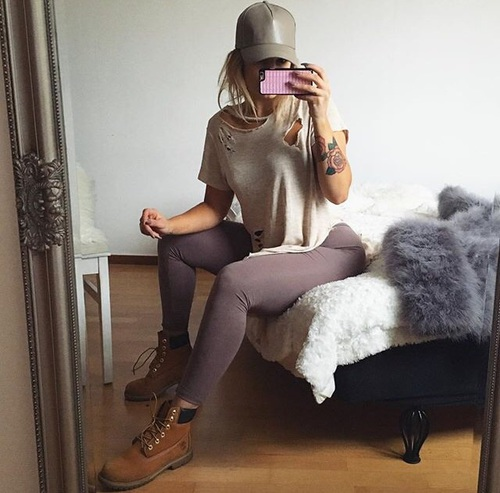 leggings-timberland