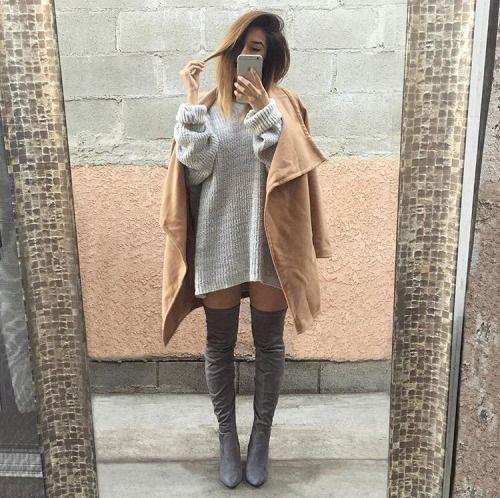 sweater-dress-cute
