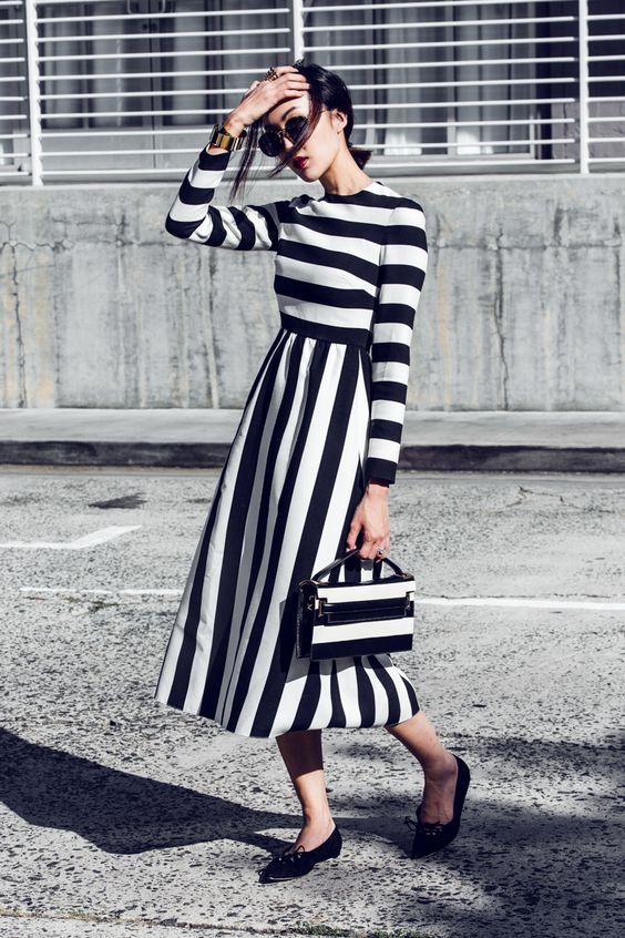 vestido-blanco-y-negros