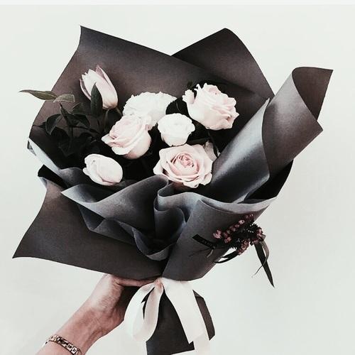 flowers-black