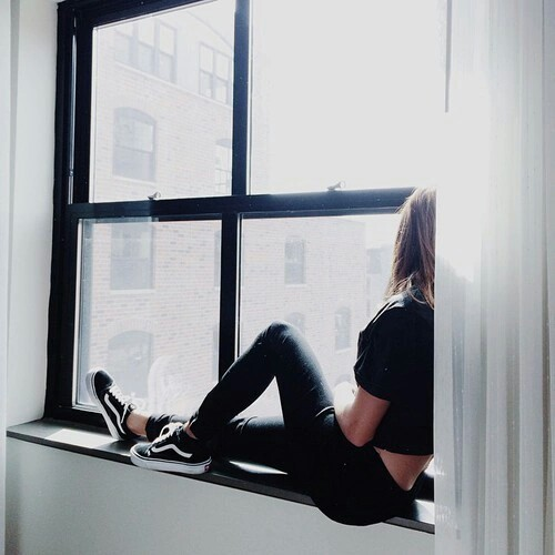selfie-ventana