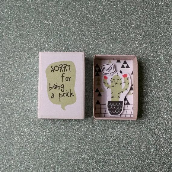 sorry-box