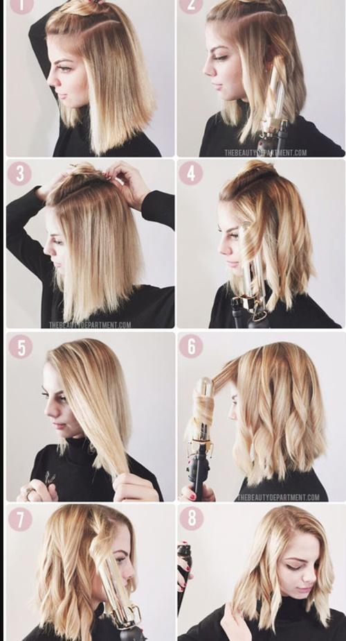 Clásico y sencillo peinados para corte bob Fotos de tutoriales de color de pelo - Peinados que tienes que hacerte si tienes un corte Bob