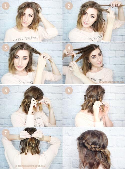 Peinados en corte de pelo bob