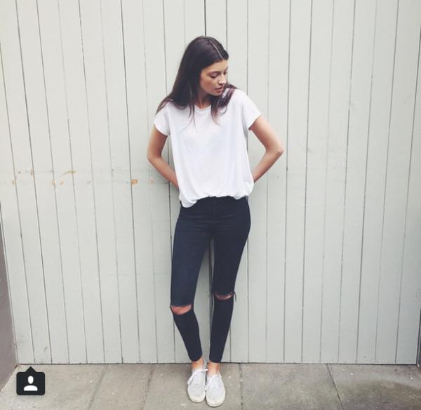 The 25 Best Women S Bottoms Ideas On Pinterest: 16 Outfits Para Verte Guapísima Con Skinny Jeans Negros
