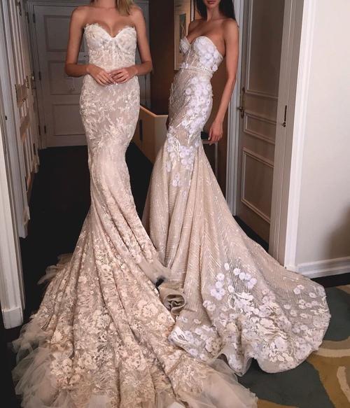 Vestidos de novia nude
