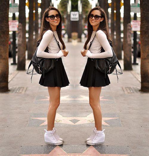 217a9790da ¡Esta falda siempre se verá de diez con botas o sneakers! Lo que la  convierte en la prenda perfecta para verte sensual