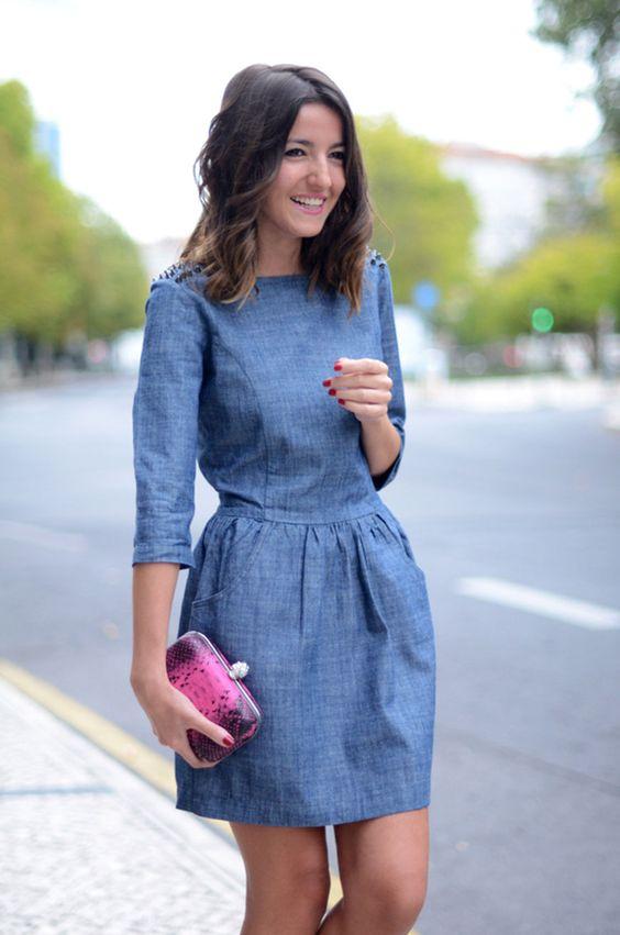 15 Vestidos De Mezclilla Que Se Convertirán En Tu Más Grande