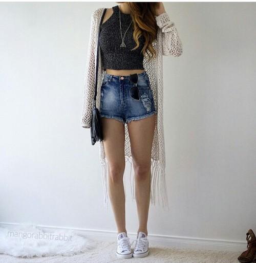 0fdaf91d5 Outfits casuales para presumir tus lindas piernas!
