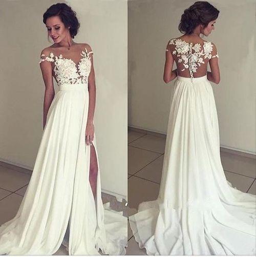Vestidos de novia para mujeres sin cadera