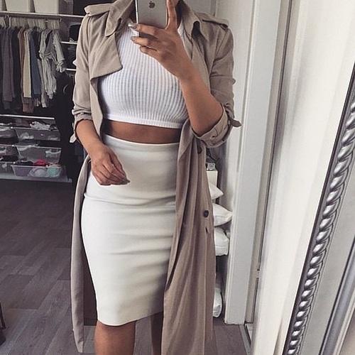 alta moda precios increibles elige auténtico Combinaciones que puedes hacer con una falda pegadita