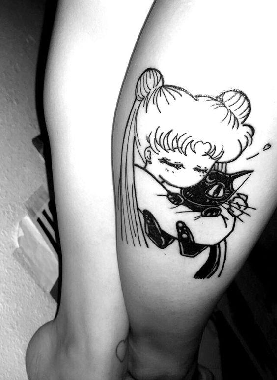 Tatuajes Anime tatuajes exclusivos para chicas amantes del anime